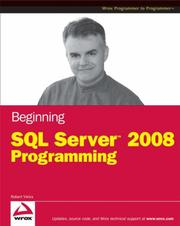 Cover of: Beginning Microsoft SQL Server 2008 Programming | Robert Vieira