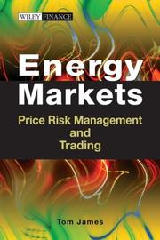 Cover of: Energy Markets by Tom James
