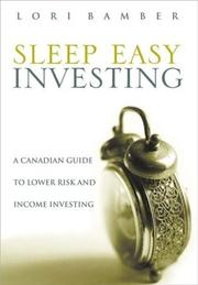 Cover of: Sleep-Easy Investing | Lori Bamber