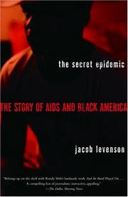 Cover of: The secret epidemic by Jacob Levenson
