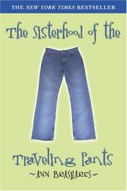 Cover of: The sisterhood of the traveling pants by Ann Brashares