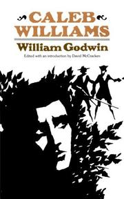 Cover of: Things as they are by William Godwin