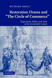 Cover of: Restoration Drama and 'The Circle of Commerce' by Richard Kroll