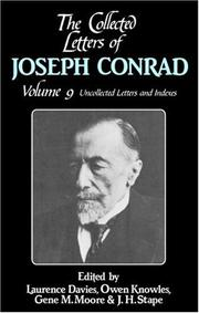 Cover of: The Collected Letters of Joseph Conrad by Joseph Conrad