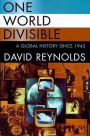One world divisible open library cover of one world divisible reynolds david fandeluxe Gallery