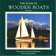Cover of: The Book of Wooden Boats, Volume II | Maynard Bray
