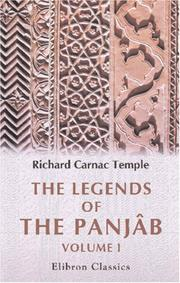 Cover of: The legends of the Panjâb | Richard Carnac Temple