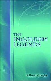 Cover of: The Ingoldsby Legends | Thomas Ingoldsby