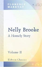 Cover of: Nelly Brooke | Florence Marryat