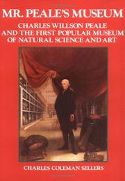 Cover of: Mr. Peale's Museum | Charles Coleman Sellers