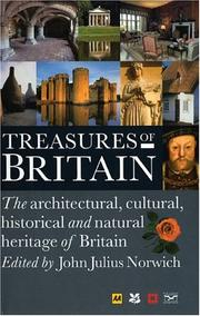 Cover of: Treasures of Britain | Automobile Association (Great Britain)