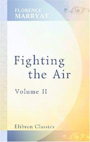 Cover of: Fighting the air | Florence Marryat