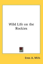 Cover of: Wild Life on the Rockies | Enos A. Mills