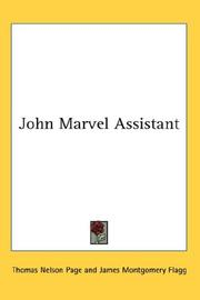 Cover of: John Marvel Assistant | Thomas Nelson Page