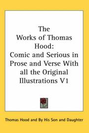 Cover of: The Works of Thomas Hood | Thomas Hood