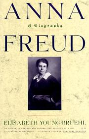 Cover of: Anna Freud | Elisabeth Young-Bruehl