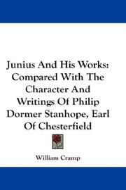 Cover of: Junius And His Works | William Cramp