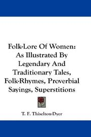 Cover of: Folk-Lore Of Women | T. F. Thiselton Dyer