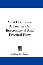 Cover of: Vital Godliness | William S. Plumer