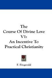 Cover of: The Course Of Divine Love V1 by F. Fitzgerald