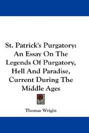 Cover of: St. Patrick's Purgatory by Thomas Wright