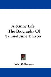 Cover of: A Sunny Life | Isabel C. Barrows