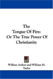 Cover of: The Tongue Of Fire | William Arthur