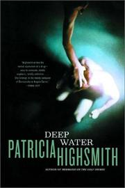 Cover of: Deep water by Patricia Highsmith