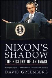 Cover of: Nixon's Shadow | David Greenberg