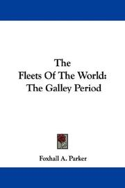 Cover of: The Fleets Of The World | Foxhall A. Parker