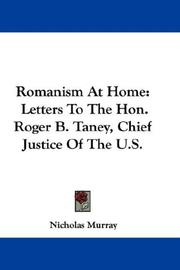 Cover of: Romanism at home | Nicholas Murray