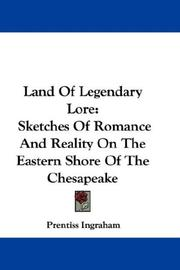 Cover of: Land Of Legendary Lore | Prentiss Ingraham