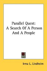 Cover of: Parallel Quest by Irma L. Lindheim