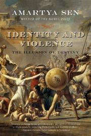 Cover of: Identity and Violence by Amartya Sen