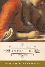 Cover of: Imposture by Benjamin Markovits
