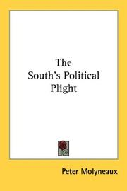 Cover of: The South's political plight | Peter Molyneaux