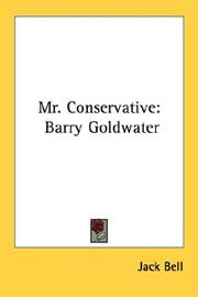 Cover of: Mr. Conservative | Jack Bell