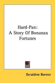 Cover of: Hard-pan | Bonner, Geraldine
