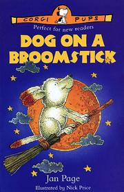 Cover of: Dog on a Broomstick (Corgi Pups) by Jan Page