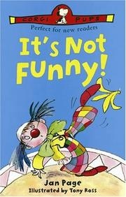 Cover of: It's Not Funny by Jan Page