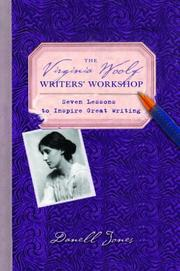 Cover of: Virginia Woolf writers' workshop by Danell Jones