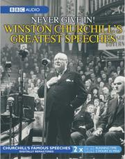Cover of: The Greatest Churchill Speeches | Winston S. Churchill