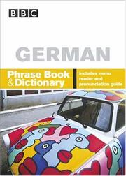 Cover of: BBC German Phrase Book & Dictionary (Phrase Book) | Carol Stanley