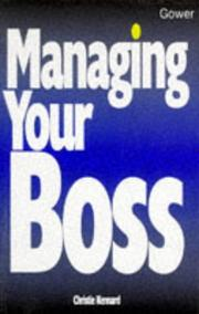 Cover of: Managing Your Boss (Business Skills) | Christie Kennard