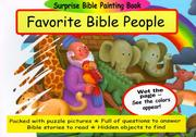 Cover of: Favorite Bible People (Surprise Bible Painting Books) by Martin Pierce