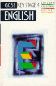 Cover of: English (GCSE Reference Guides) by Paul Pascoe