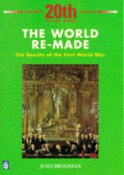 Cover of: THE WORLD REMADE by JOSH BROOMAN