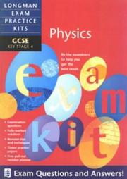Cover of: GCSE Physics by Keith Palfreyman