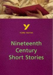 Cover of: York Notes on Nineteenth Century Short Stories by Sarah Rowbotham