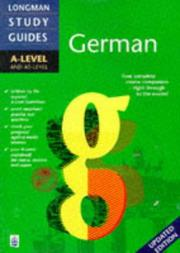 Cover of: German (Longman A-Level Study Guides) by Alasdair McKeane